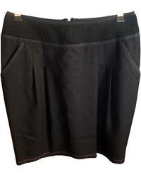 Zadig & Voltaire - Black Wool Skirts - Lyst