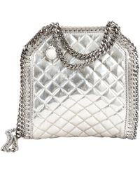 Stella McCartney - Falabella Leather Crossbody Bag - Lyst