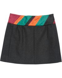 Louis Vuitton - Pre-owned Mid-length Cashmere Skirt. - Lyst