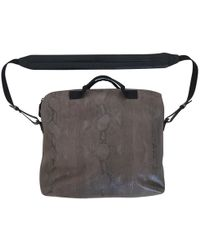 Lanvin - Pre-owned Grey Python Bags - Lyst