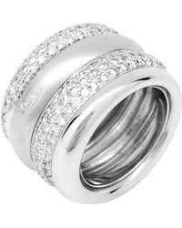 Pomellato - White Gold Ring - Lyst