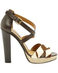 Ralph Lauren Collection - Leather Heels - Lyst
