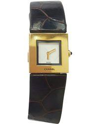Chanel - Montre Mademoiselle en or jaune - Lyst
