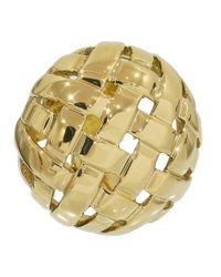 Tiffany & Co. - Yellow Gold Earrings - Lyst