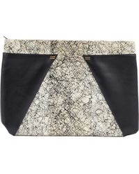 Roland Mouret - Pre-owned Leather Clutch Bag - Lyst