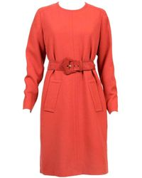 Givenchy - Wool Mid-length Dress - Lyst