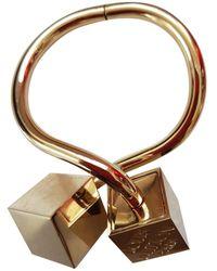 Louis Vuitton - Gold Steel Bracelets - Lyst