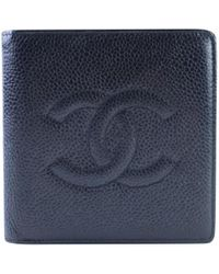 Chanel - Leather Wallet - Lyst