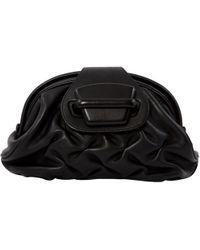 13a3005b8e2a65 Chanel 2002-2003 Camellia 'cc' Leather Coin Purse in Black - Lyst