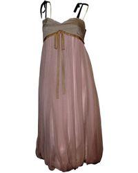 Marni - Pink Silk Dress - Lyst