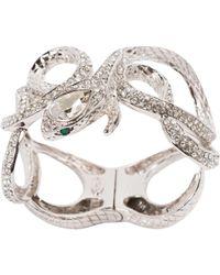 Roberto Cavalli - Silver Metal Bracelet - Lyst