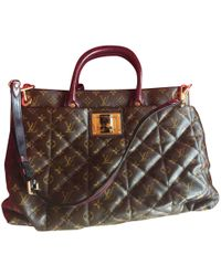 800289ca3d45 Burberry Prorsum Housecheck Bucket Bag With Fringe in Brown - Lyst