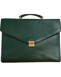 Lancel - Pre-owned Leather Satchel - Lyst