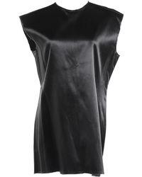 Céline - Black Synthetic Top - Lyst