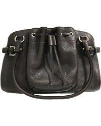 Ferragamo - Leather Handbag - Lyst