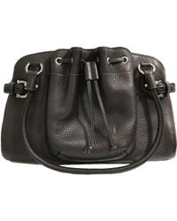 Ferragamo - Pre-owned Leather Handbag - Lyst