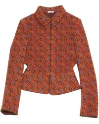 Alaïa - Pre-owned Wool Short Vest - Lyst