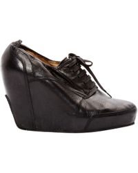 Dries Van Noten - Pre-owned Leather Ankle Boots - Lyst