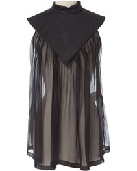 Givenchy - Silk Top - Lyst