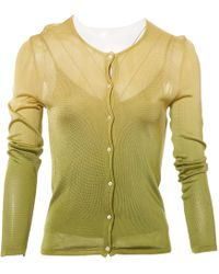 Dior - Pre-owned Green Viscose Knitwear - Lyst