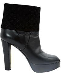 19c6c7938b0 Lyst - Women s Louis Vuitton Heel and high heel boots On Sale