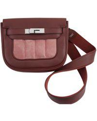 Hermès - Berline Leather Crossbody Bag - Lyst