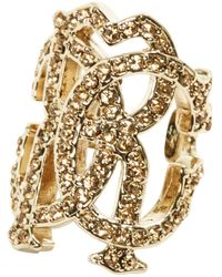 Roberto Cavalli - Pre-owned Gold Gold Plated Rings - Lyst