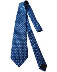 Loewe - Blue Silk Ties - Lyst