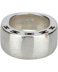 Hermès - Clarté Silver Metal Ring - Lyst
