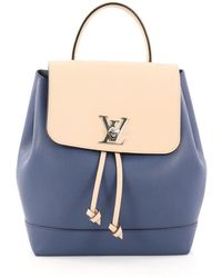 Louis Vuitton - Lockme Leather Backpack - Lyst