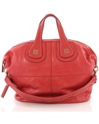 Givenchy - Nightingale Red Leather - Lyst