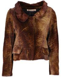 Marni - Brown Fur - Lyst