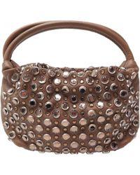 Sonia Rykiel - Pre-owned Domino Leather Handbag - Lyst