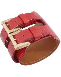 Louis Vuitton | Pre-owned Monogram Leather Bracelet | Lyst