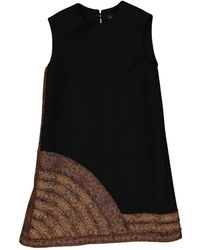 Lanvin - Wool Mini Dress - Lyst