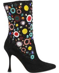 Manolo Blahnik - Boots - Lyst