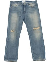 Acne Studios - Blue Cotton Jeans Pop - Lyst