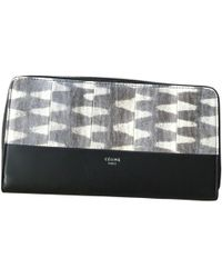 Céline - Pre-owned Exotic Leathers Wallet - Lyst