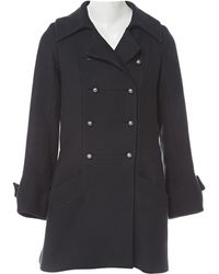 Chloé - Wool Coat - Lyst
