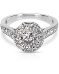 Van Cleef & Arpels - Pre-owned Platinum Ring - Lyst