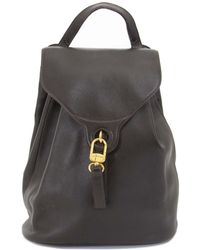 Delvaux - Brown Leather - Lyst