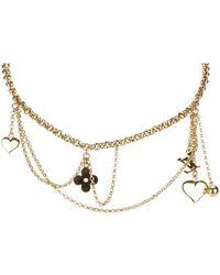 Louis Vuitton - Monogram Necklace - Lyst