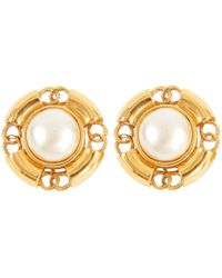 Chanel - Baroque Earrings - Lyst