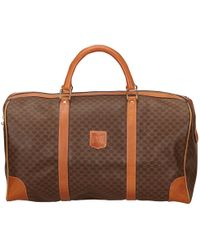 Céline - Pre-owned Cloth Travel Bag - Lyst