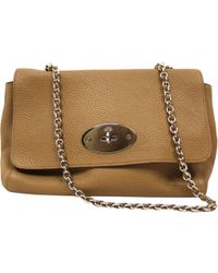 bb3fd4d7a2d Mulberry Medium Lily In Clay Small Classic Grain - Lyst