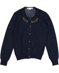 Comme des Garçons - Navy Wool Knitwear - Lyst