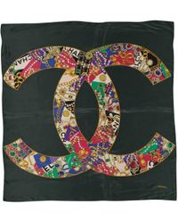 Chanel - Pre-owned Silk Handkerchief - Lyst