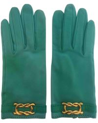 Hermès - Pre-owned Leather Gloves - Lyst