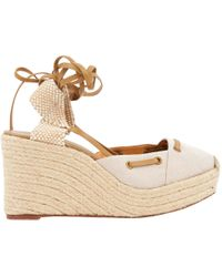 Hermès - Pre-owned Cloth Sandals - Lyst