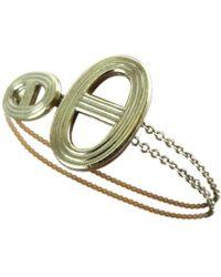 Hermès - Pre-owned Chaîne D'ancre Silver Silver Bracelets - Lyst